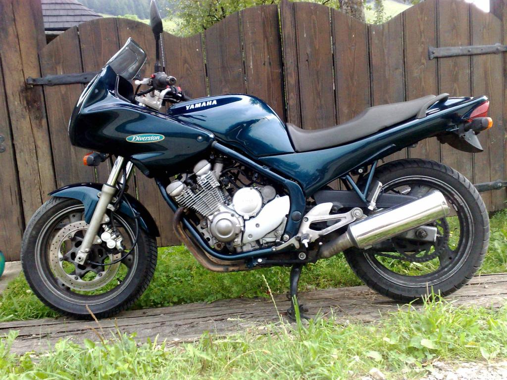 Yamaha xj 600 reduced